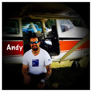 Andy is our skydiving Safety and Training Advisor