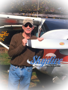 Chris began his pilot career flying skydivers in the 1970s